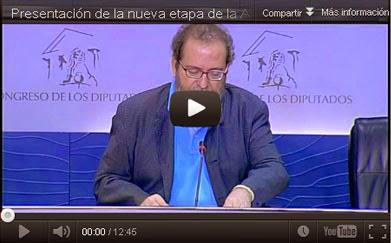 Rueda de Prensa relanzamiento APDDA, septiembre 2012