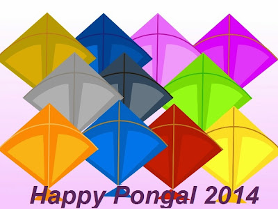 Happy Pongal 2016 HD Wallpapers Images Pictures Greetings with Kites