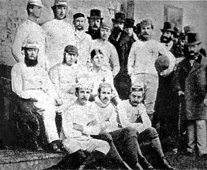 El primer equipo de fútbol de la historia