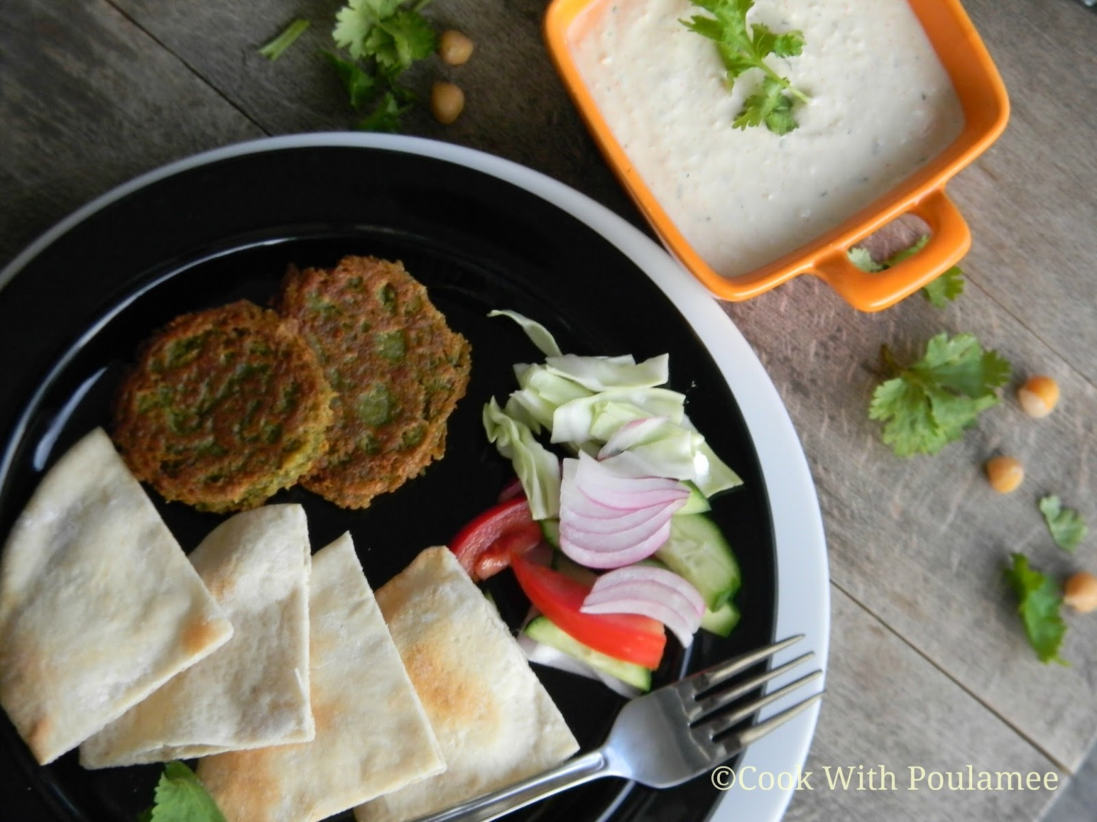 Panfried Falafel With Cumin And Garlic Recipe — Dishmaps