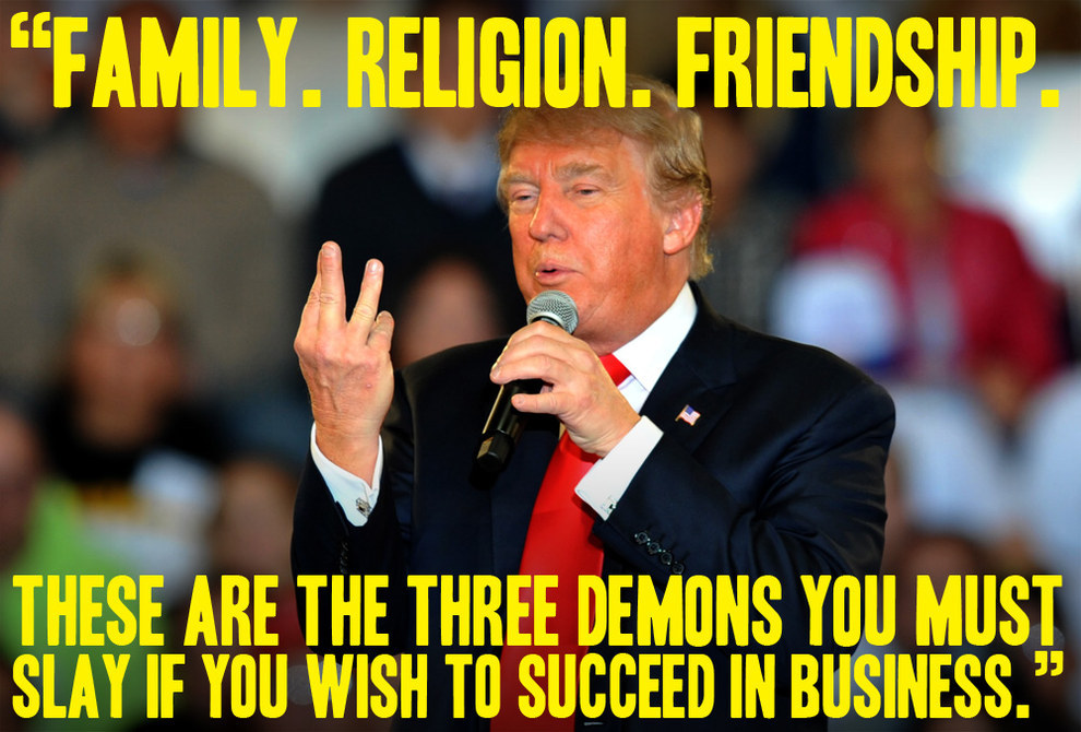 Funny Donald Trump Quotes Enchanting Rick Kaempfer Donald Trump With Quotes From Mrburns