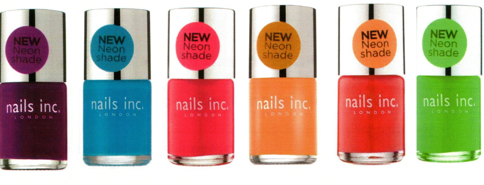 The Glamorous: New colours from Nails Inc