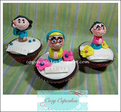 cozy cupcakes mbah uti birthday rainbow cake and cupcakes