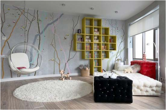 Cool modern teen girl bedrooms room design ideas for Cool tween bedroom ideas