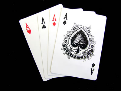 4 aces in poker