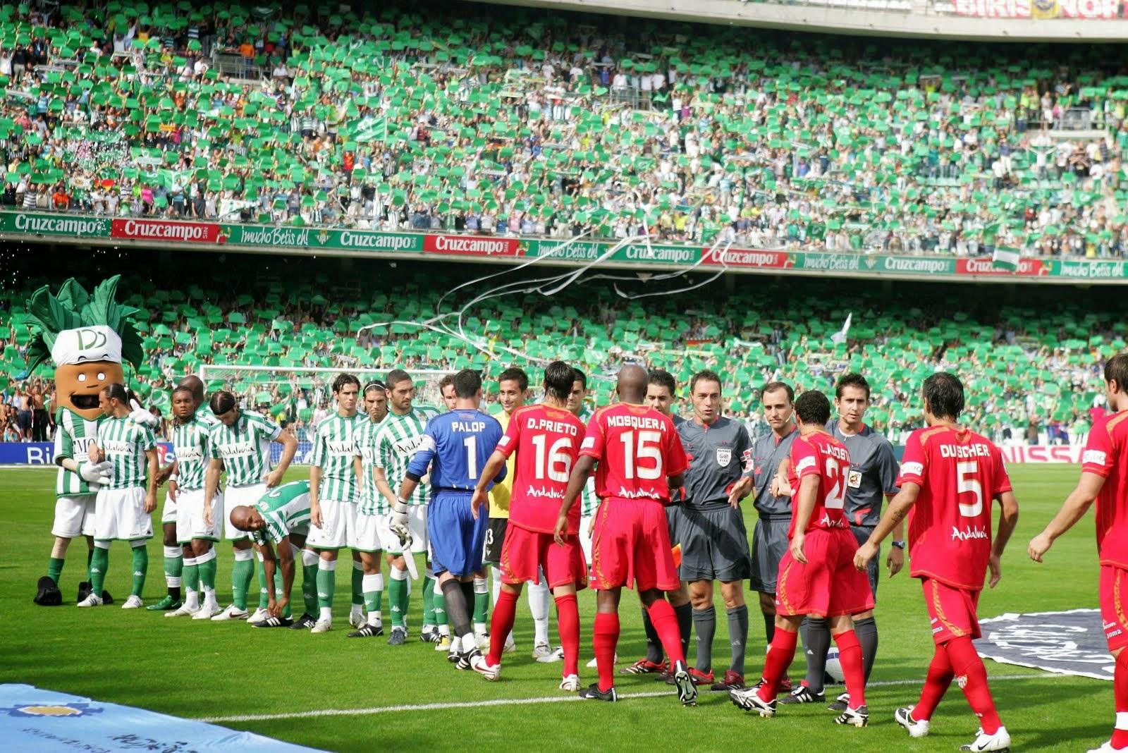 Betis Sevilla derbi andaluz