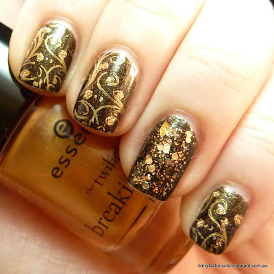 Ciate Twilight with Essence A Piece of Forever stamping