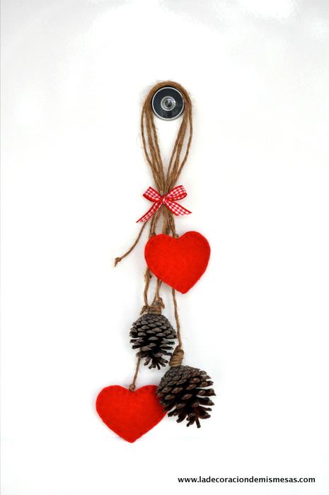 Ideas para navidad decorar con pi as - Pinas de navidad adornos ...