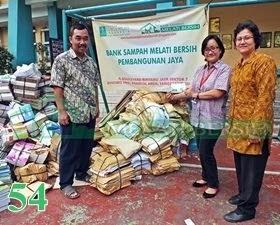 Bank Sampah Melati Bersih Pembangunan Jaya Bintaro Pondok Aren Tangerang Selatan