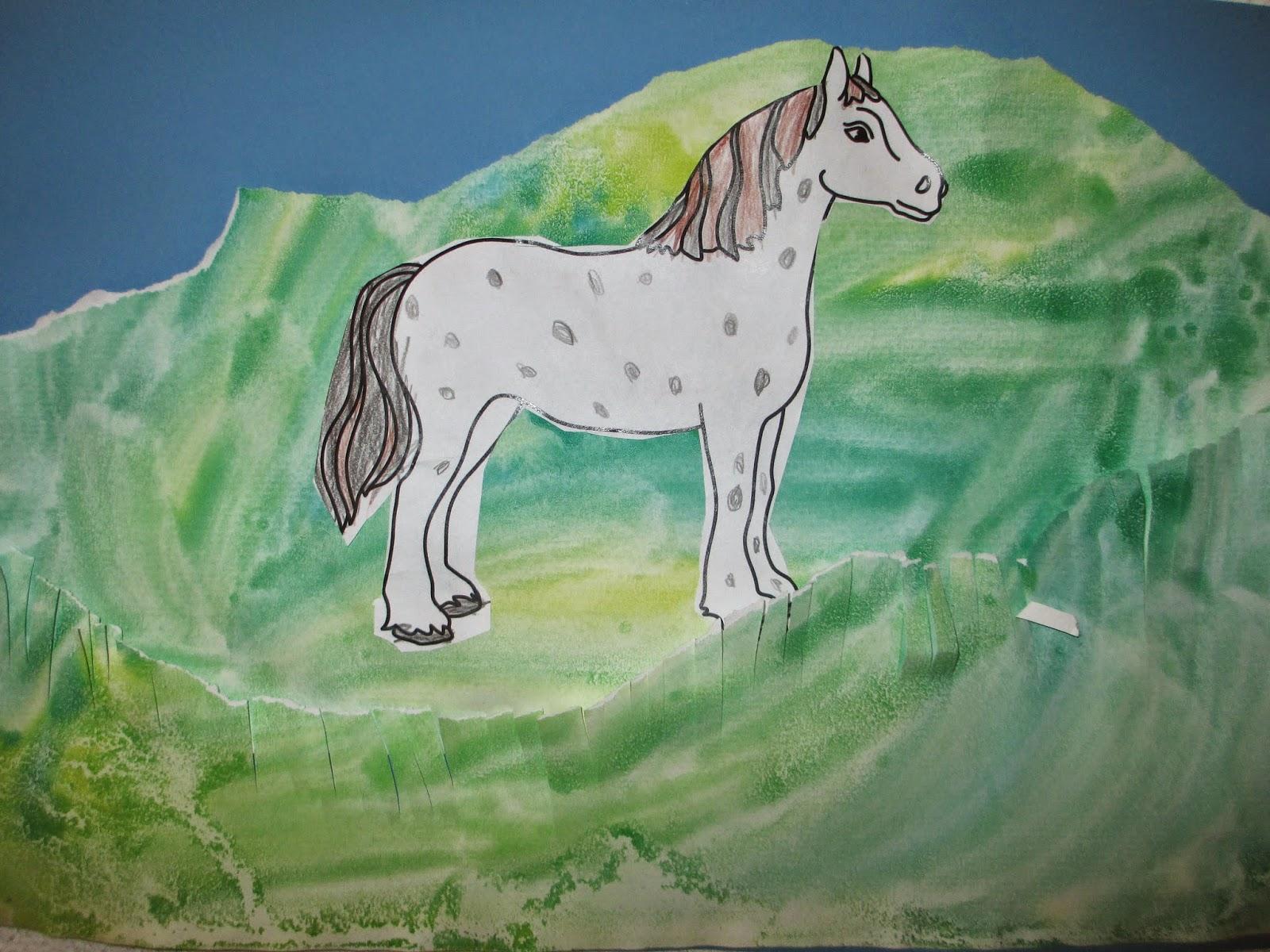 zeichnen Bild Pferd