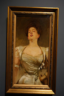 Oil Painting Portrait Woman Singing John Singer Sargent
