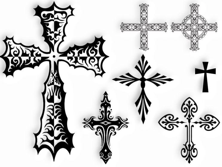 Tatuaż Wzory Tatuaży Tatuaże Krzyże