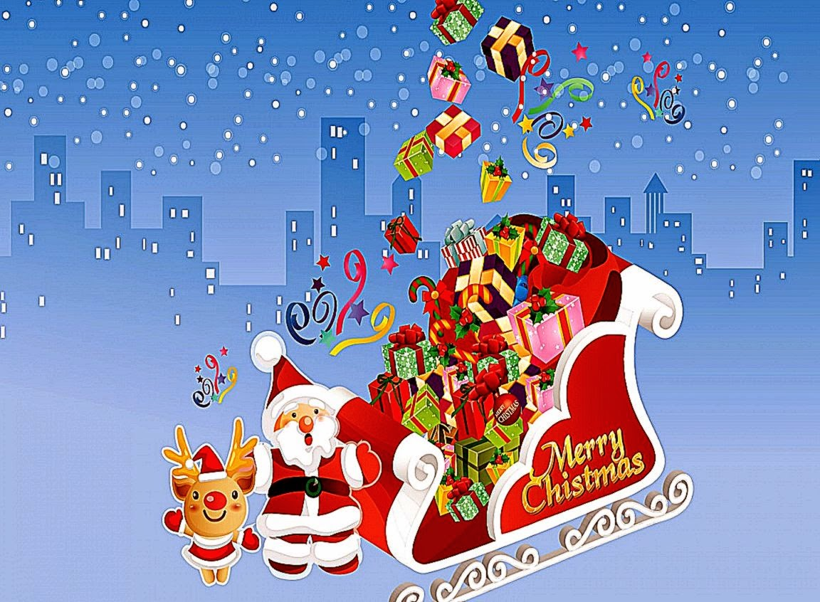 Moving Merry Christmas Wallpaper Animated Merry Christm...