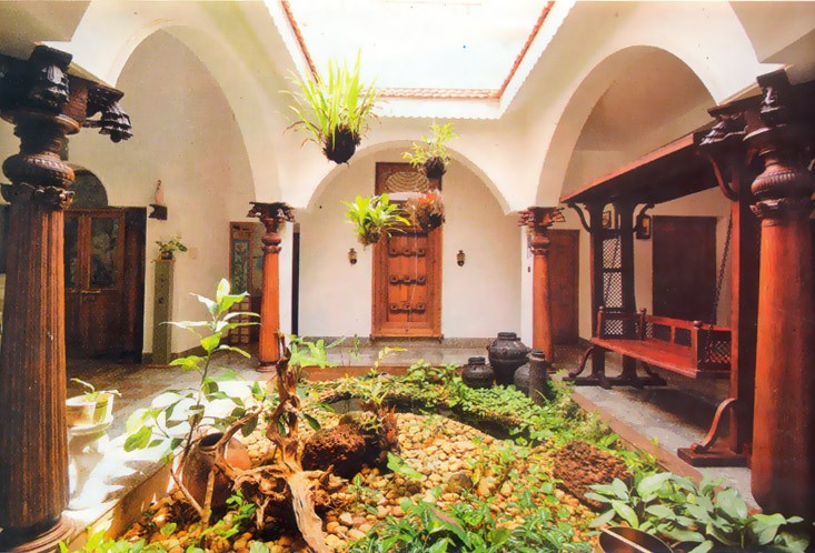 Interior Courtyards Sweet Home