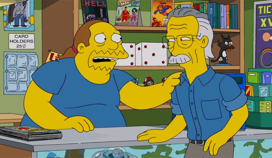 Stan Lee en Los Simpson