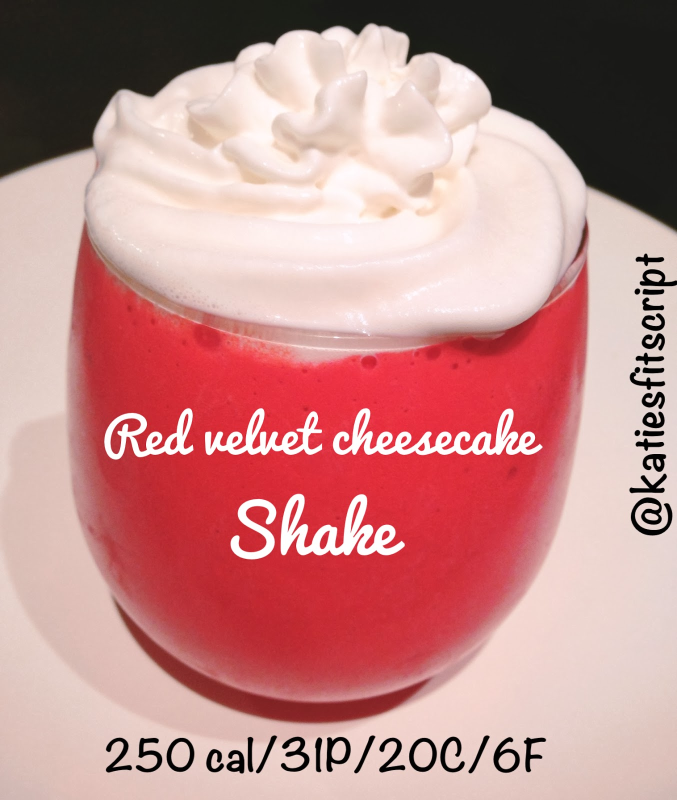 Red Velvet Cheesecake Protein Shake Recipe — Dishmaps