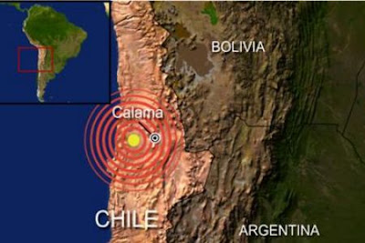 Two powerful Earth Quakes jolt central Chile