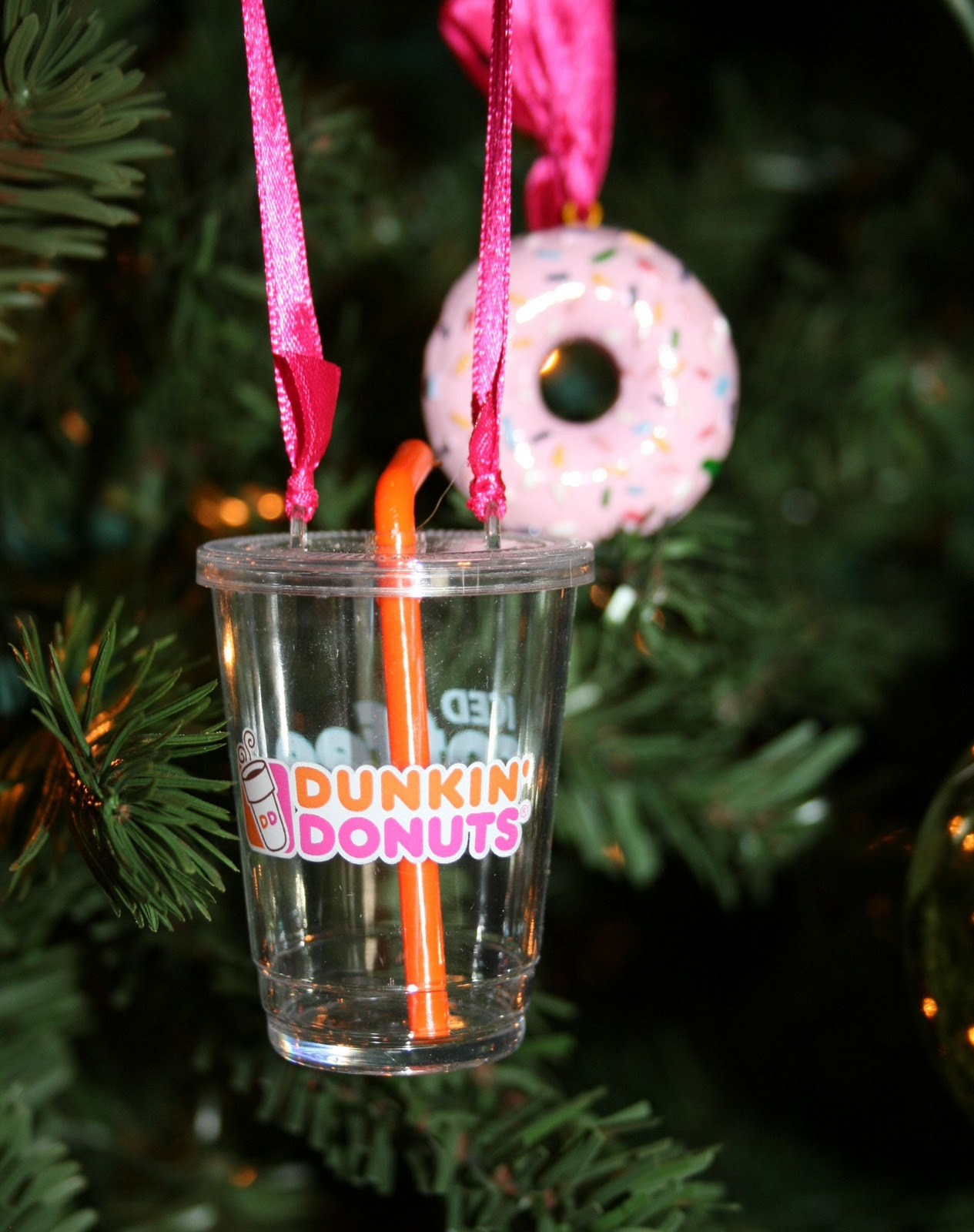 Friday Favorites—dunkin Donuts Christmas Ornament 2011