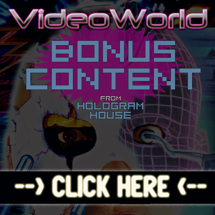 VIDEOWORLD COMIC - BONUS CONTENT