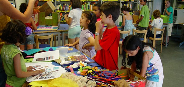 Bibliotecas para niños Madrid - La Casa encendida niños