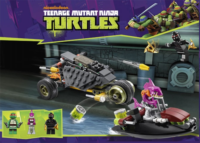 Brickstoy: Another two LEGO Teenage Mutant Ninja Turtle sets disclosed