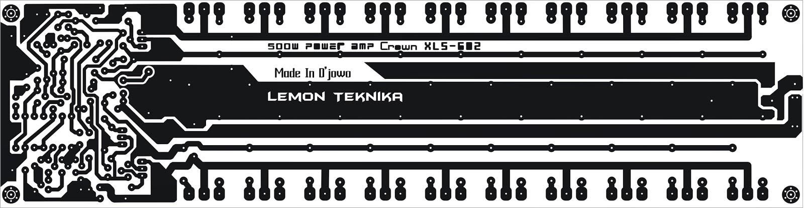 layout pcb power apex b500 tef