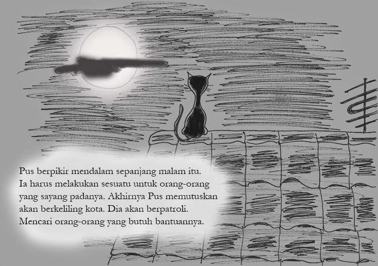 pictorial-sotry-kucing-atap-rumah-kartun