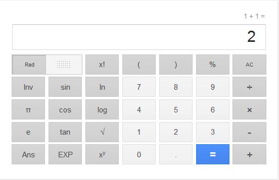 கூகுள் கால்குலேட்டர் [வீடியோ பதிவு] Google+calculator