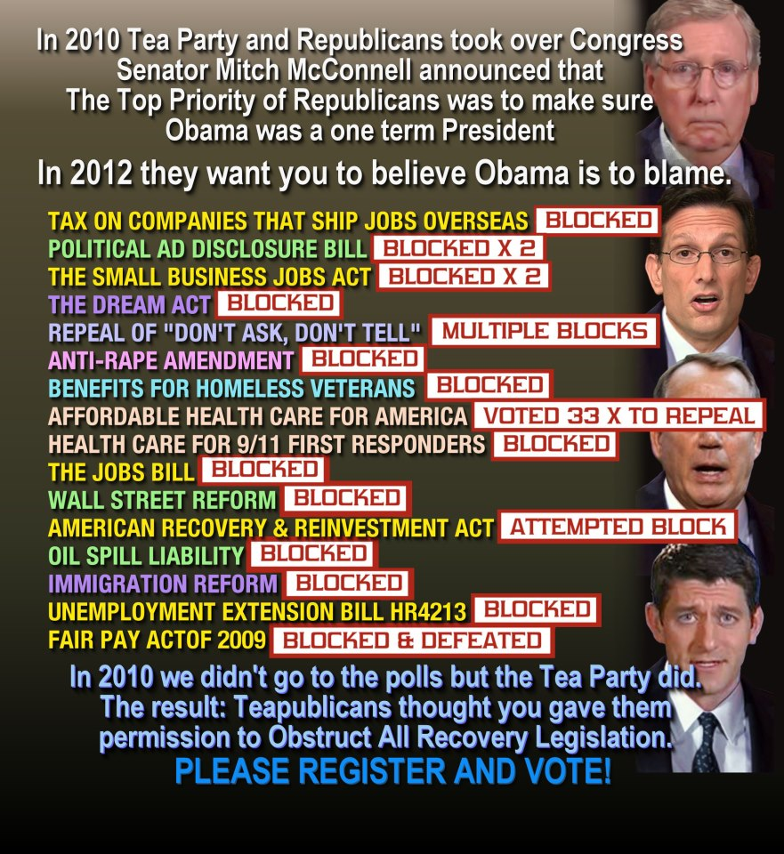 republican obstruction