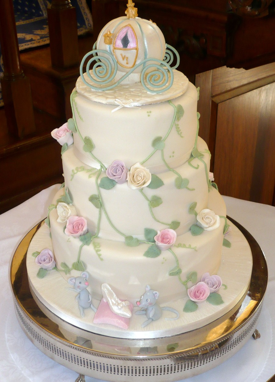 Cake Design Cinderella : Wedding Accessories Ideas
