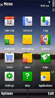 Lake Theme by Larsson for Symbian S60v5