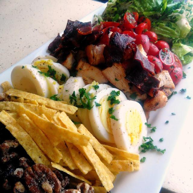 Mesha's Cobb Salad with Homemade Balsamic Dressing