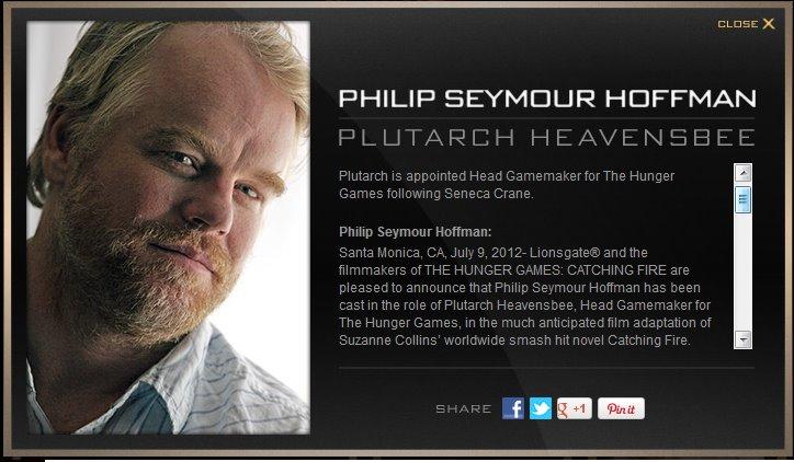 philip seymour hoffman hunger games