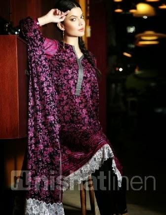 Nishat Linen Lawn Pret Collection 2014