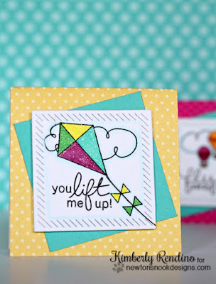 Kite Lunchbox Notes by Kimberly Rendino | Stamps by Newton's Nook Designs