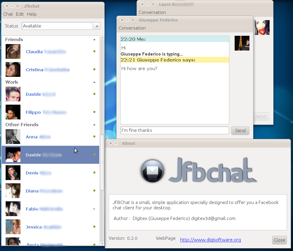 messengerguide 2011 jfbchat powerful java based facebook chat client out web browser