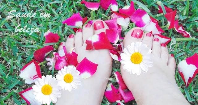 Cuidados de beleza e saúde com os pés
