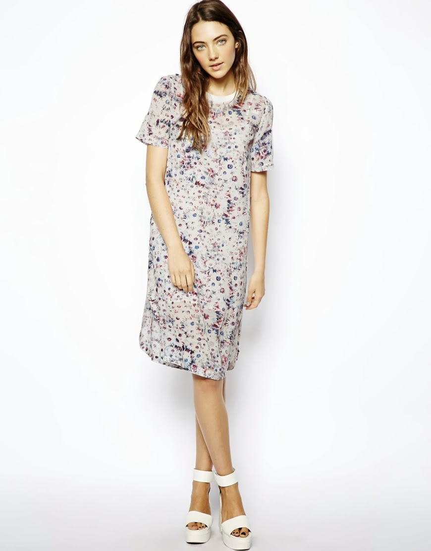 asos tshirt dress