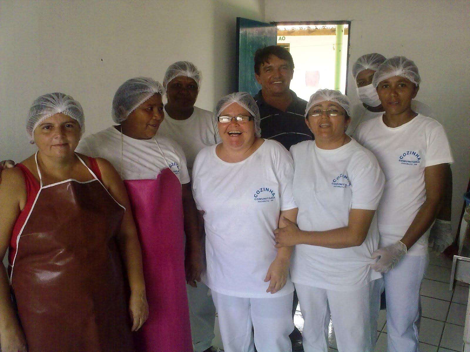 esteve em Jucurutu para conhecer projeto da Cozinha Comunitária #663032 1600 1200