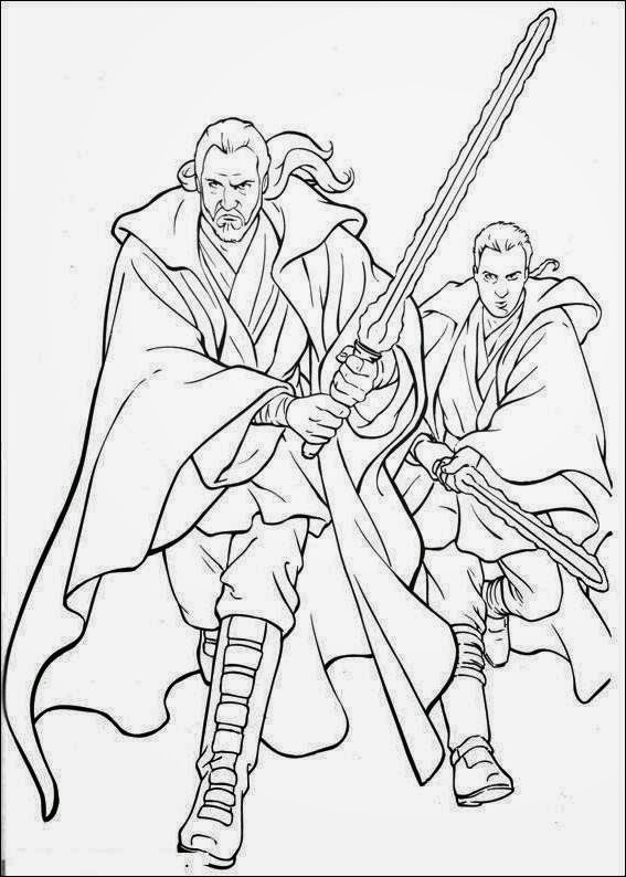 coloring pages and clone wars - photo#21