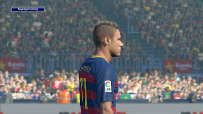 PES 2016 Neymar Jr Face by Lord Yyud