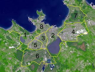 Tallinn et ses districts