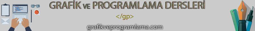 Grafik ve Programlama Dersleri