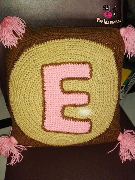 Cojin crochet aprender manualidades es - Cojin de crochet ...