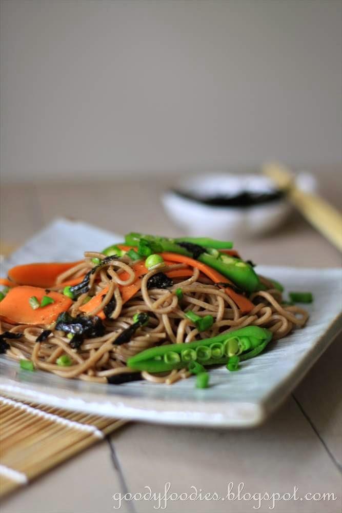 GoodyFoodies: Recipe: Soba Noodle Salad (Gordon Ramsay)