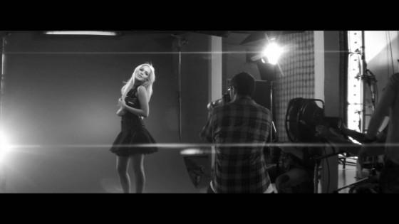 Lindsay Lohan – B&W Topshop Photoshoot