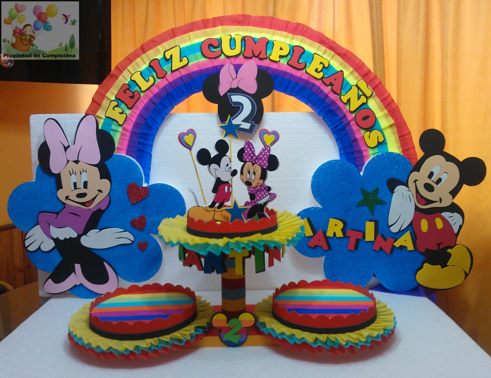 Mickey Mouse Decoraciones Para Fiestas ~ Decoraciones Para Mesa De Minnie Mouse  Car Interior Design