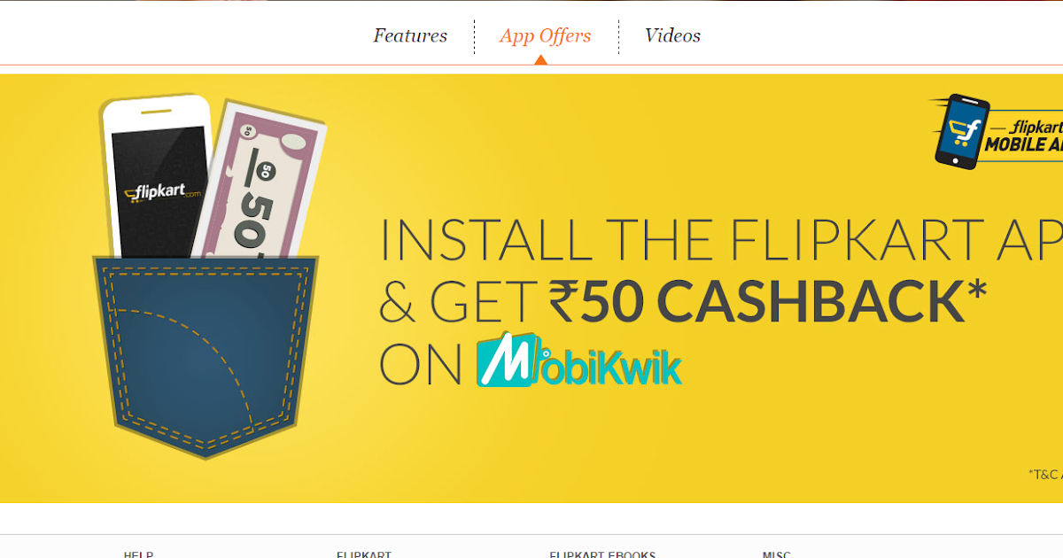 GOOD NEWS FOR MOBILE USERS FROM FLIPKART-GET FREE Rs 50 ...