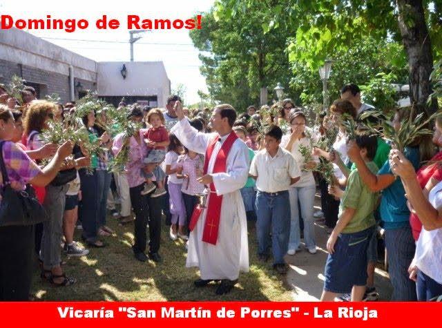 DOMINGO DE RAMOS: TE RECONOCEMOS, JESÚS, COMO REY Y SALVADOR!