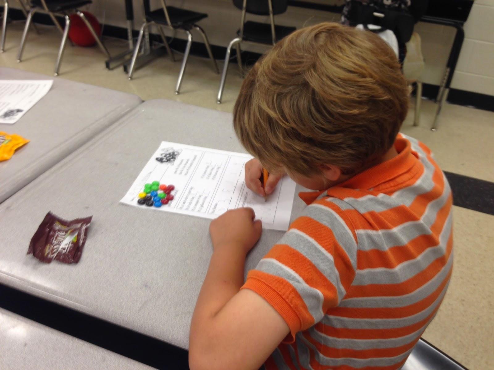 Math: Just Do It!: Math and M&Ms. YUM!!!